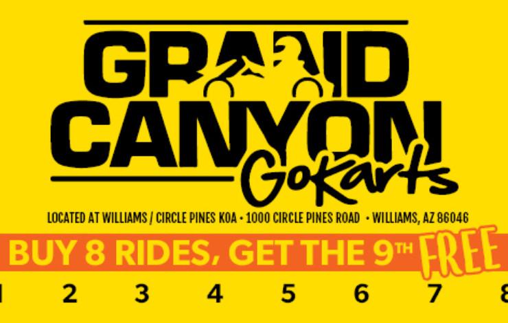 Buy 8 Rides, Get 9th Ride Free
